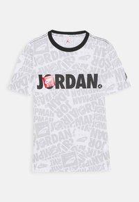 Jordan - JUMPMAN BY SPLASH TEE UNISEX - Print T-shirt - white - 0
