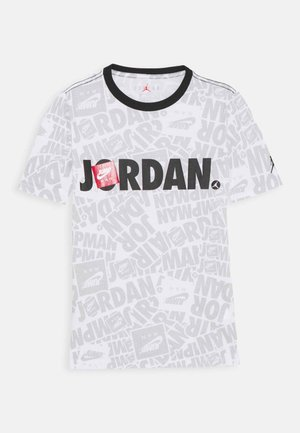 JUMPMAN BY SPLASH TEE UNISEX - Triko s potiskem - white