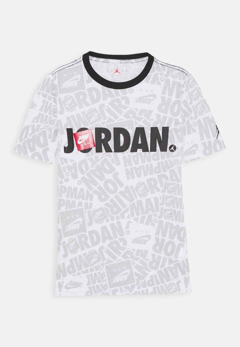 Jordan - JUMPMAN BY SPLASH TEE UNISEX - Print T-shirt - white