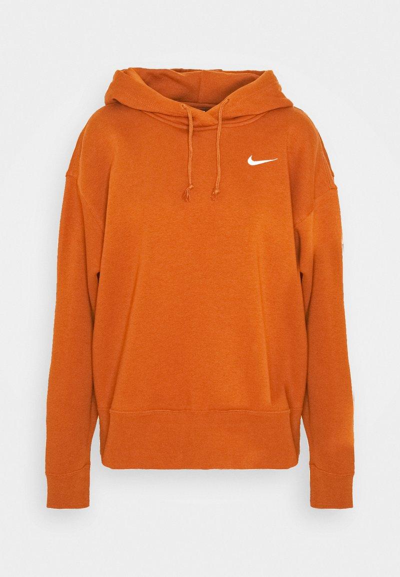 Nike Sportswear - HOODIE TREND - Hoodie - tawny/white