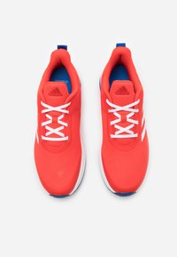 adidas Performance - FORTARUN KIDS NEXT CLOUDFOAM TRAINING SHOES UNISEX - Neutral running shoes - vivid red/footwear white/collegiate royal - 3