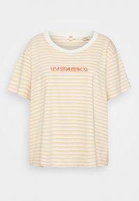 Levi's® Plus - VARSITY TEE - Print T-shirt - pearl tofu - 3