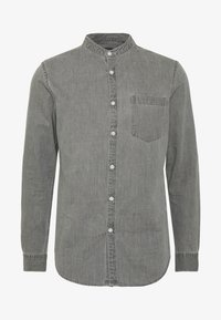 GRANDAD - Shirt - mid grey