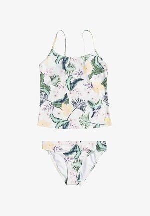 LOVELY SENORITA SET - Bikini - bright white rg praslin