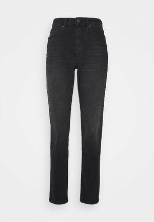 ONLVENEDA LIFE MOM - Slim fit jeans - black