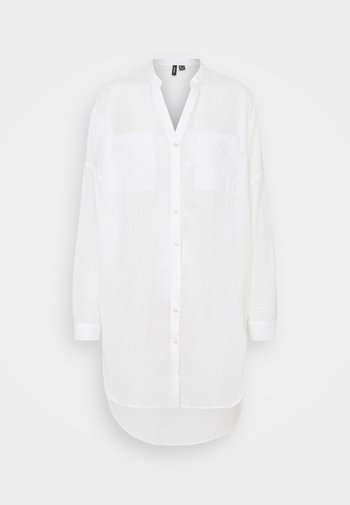 VMISABELL FOLD UP TUNIC - Blouse - snow white