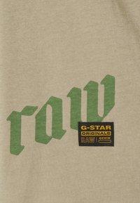 G-Star - GSRAW KNOT  - T-shirt print - hatton contour - 6