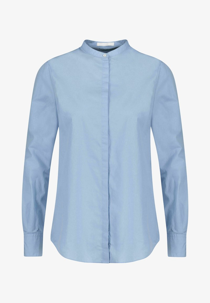 BOSS - BEFELIZE - Button-down blouse - bleu