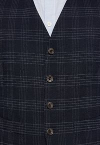 Ben Sherman Tailoring - MIDNIGHT TEXTURED CHECK SUIT - Completo - navy - 7