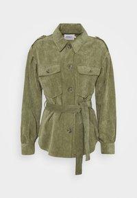 ONLY - ONLNINA SHORT SHACKET - Summer jacket - kalamata - 0