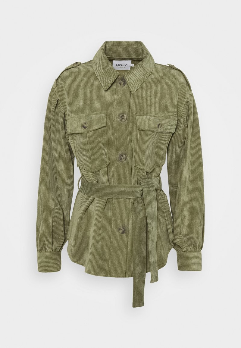 ONLY - ONLNINA SHORT SHACKET - Summer jacket - kalamata