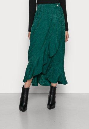 LAPOUSSIERE - Jupe longue - lapoussiere vert
