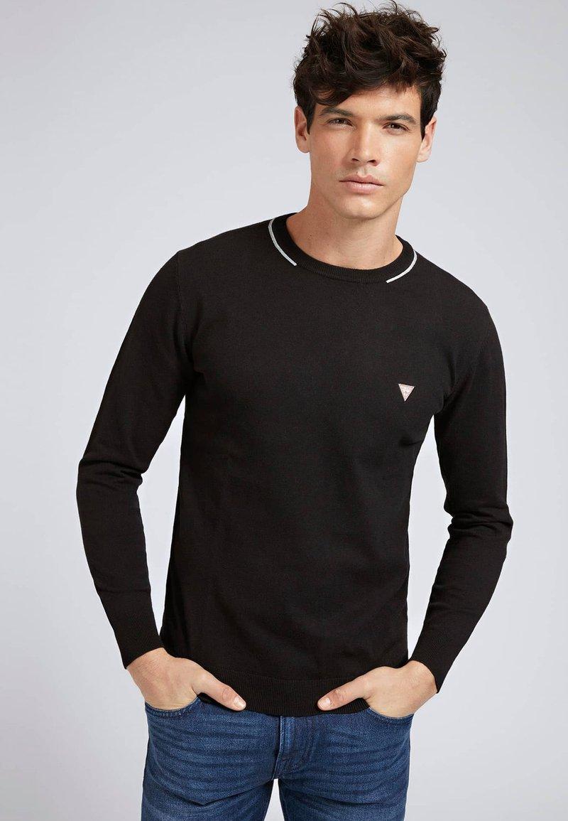 Guess - Sweatshirt - schwarz