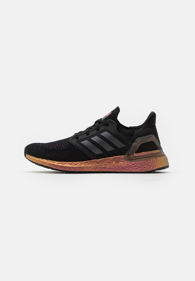 ULTRABOOST 20 PRIMEBLUE PRIMEKNIT RUNNING SHOES - Obuwie do biegania treningowe - core black/grey five/signal pink