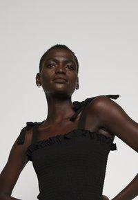 Bruuns Bazaar - CARLA ANNA - Top - black - 5