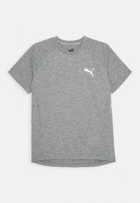 Puma - EVOSTRIPE TEE - Jednoduché triko - medium gray heather - 0