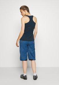 ION - BIKESHORTS SEEK - Pantalon 3/4 de sport - ocean blue - 3