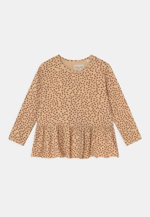 REYA FRILL - Long sleeved top - buttercup/rosa