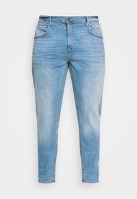 Blend - JET FIT SCRATCHES - Slim fit jeans - denim light blue - 0