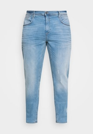 JET FIT SCRATCHES - Slim fit jeans - denim light blue