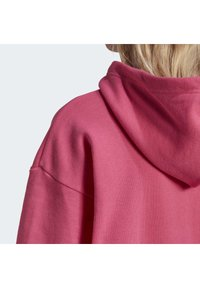 adidas Originals - TREFOIL ESSENTIALS HOODED - Jersey con capucha - pink, not defined - 5