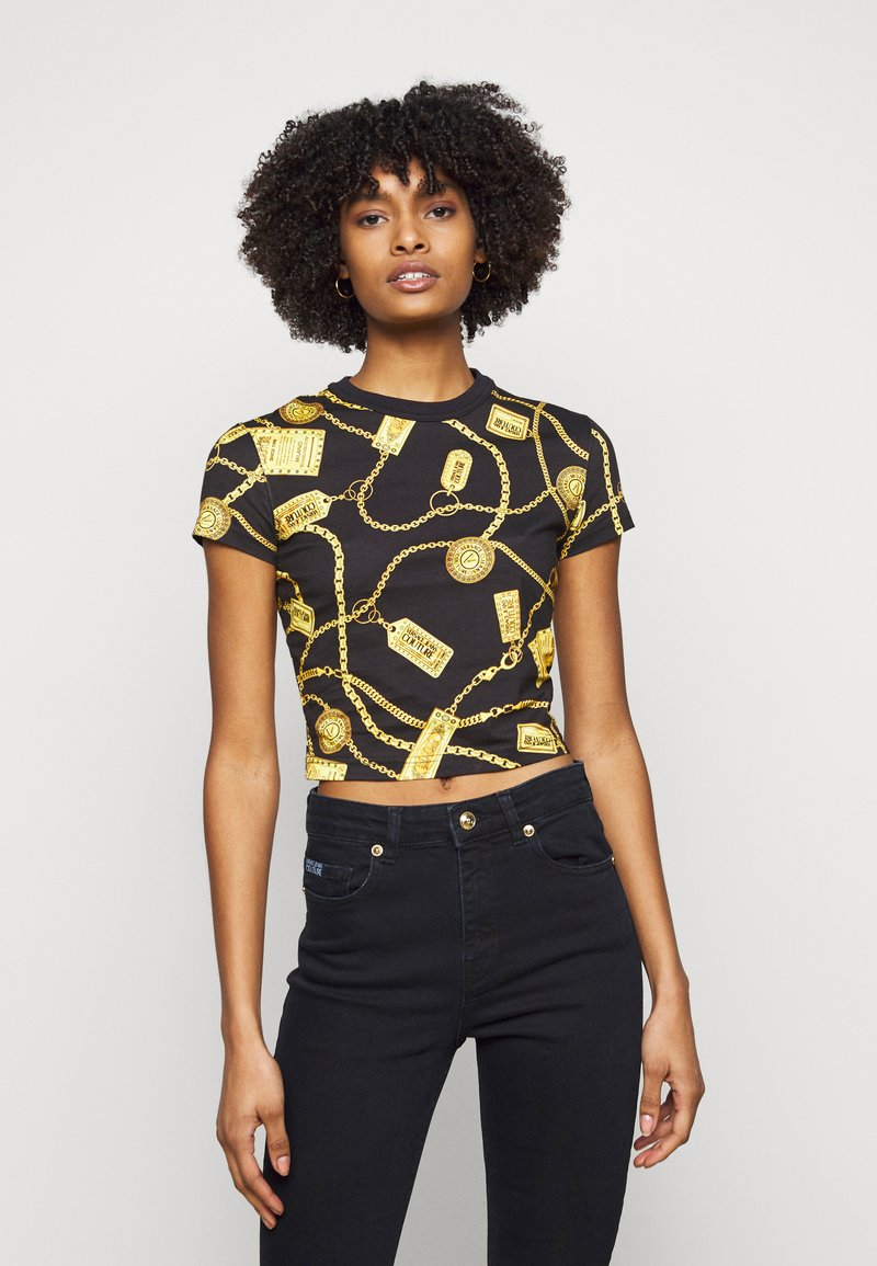 Versace Jeans Couture - Triko spotiskem - black