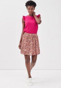 Cache Cache - A-line skirt - brown - 1