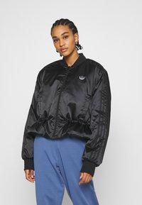adidas Originals - JACKET - Bomber Jacket - black - 0
