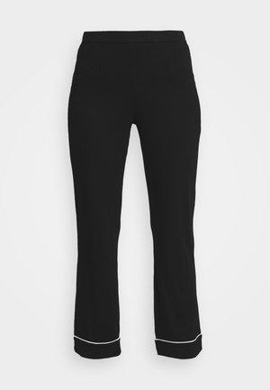 TROUSERS - Pyjama bottoms - black