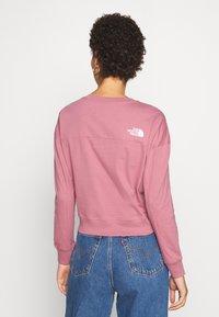 The North Face - ENSEI TEE  - Langærmede T-shirts - mesa rose - 3