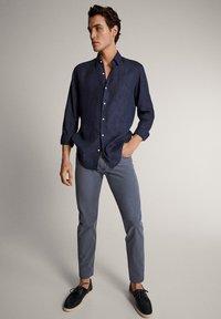 Massimo Dutti - Slim fit jeans - blue - 1
