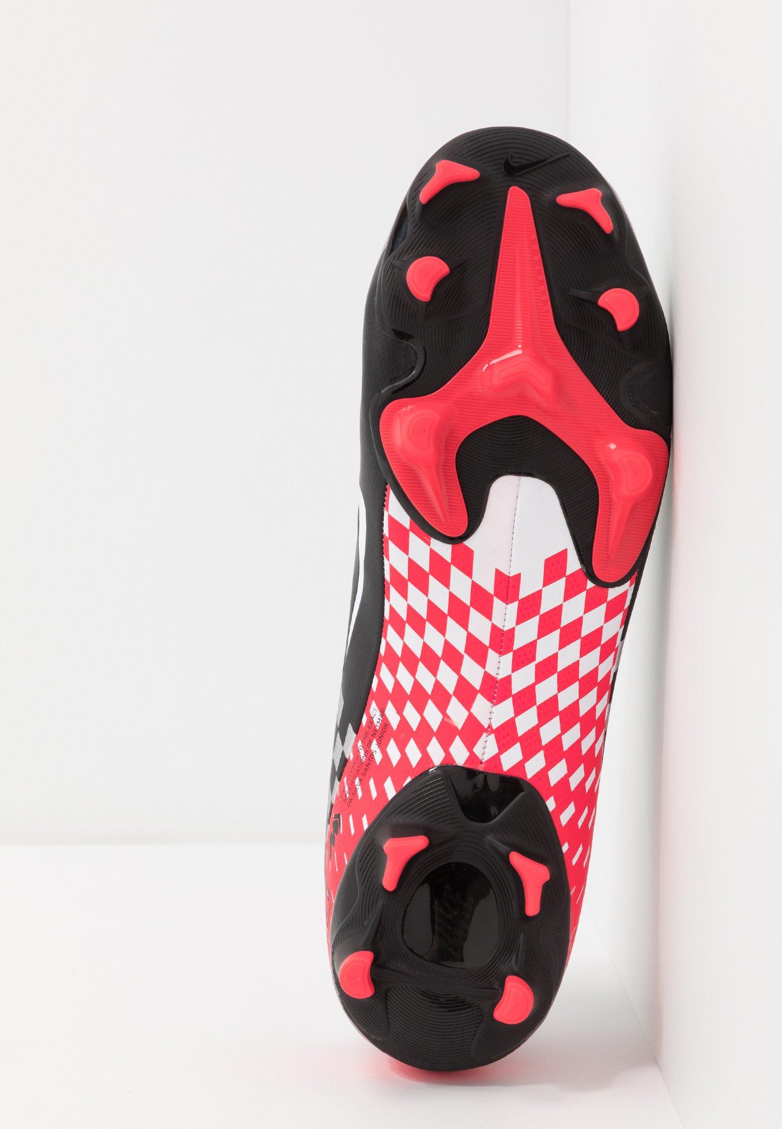 Nike Performance VAPOR 13 ACADEMY NEYMAR FG/MG - Fußballschuh Nocken - chrome/black/red orbit/platinum tint/white/dunkelgrau - Herrenschuhe ERHK6