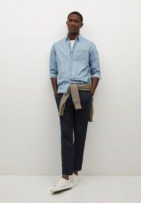 Mango - MATEO - Trousers - dunkles marineblau - 1