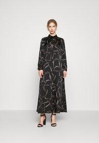 Vero Moda - VMCALA  ANCLE DRESS  - Maxi dress - black - 1