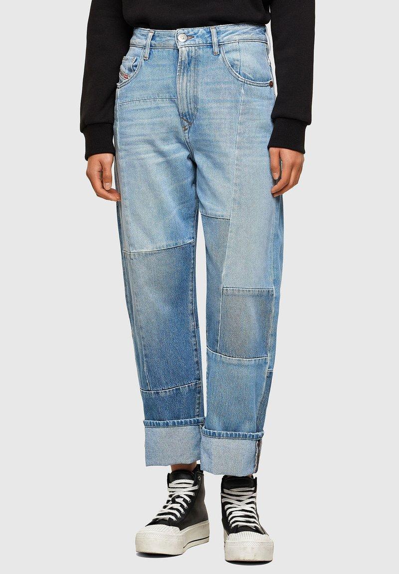 Diesel - Straight leg jeans - light blue