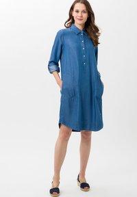 BRAX - STYLE GILLIAN - Denim dress - blue - 1