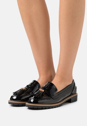 WIDE FIT KREME - Loafers - black