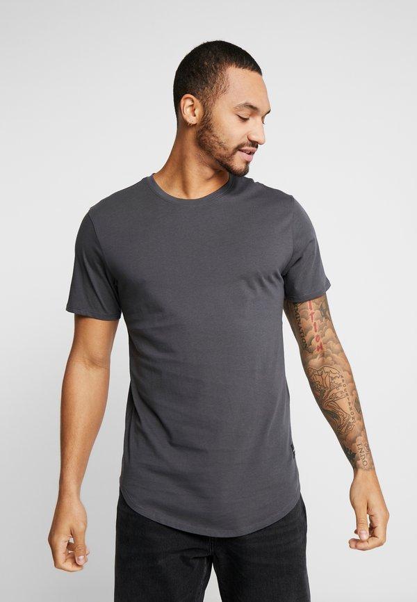 Only & Sons ONSMATT LONGY 7 PACK - T-shirt basic - dark blue/bordeaux/khaki/granatowy Odzież Męska XLEK
