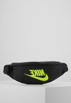 HERITAGE HIP PACK  - Bum bag - dark smoke grey/black/volt