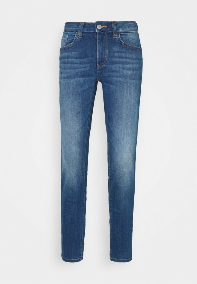Jeans slim fit - mid stone bright blue denim