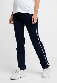 Esprit Maternity - PANTS - Tracksuit bottoms - night blue - 0