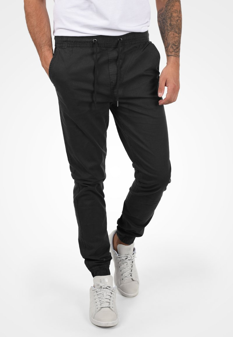 Solid - THEREON - Chinos - black