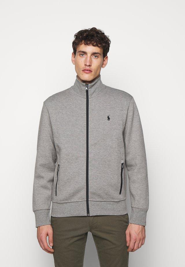 veste en sweat zippée - battalion grey