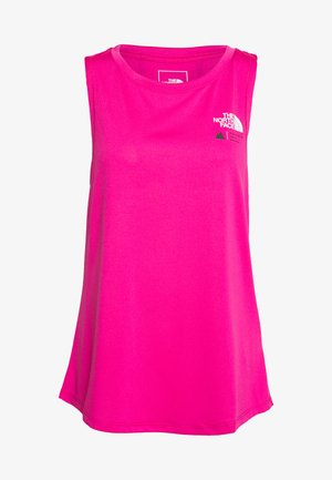 WOMENS GLACIER TANK - Sports shirt - mr pink