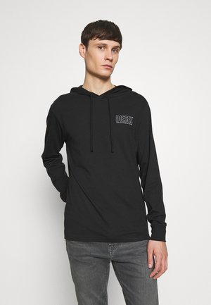 UMLT-JIMMY T-SHIRT L-S - Sweat à capuche - black