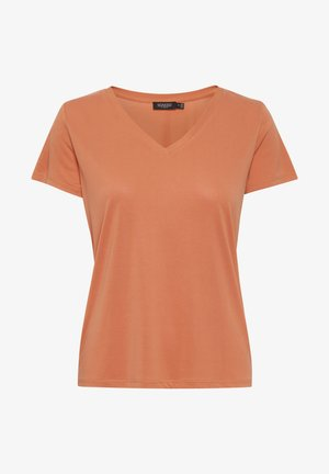 Basic T-shirt - carnelian