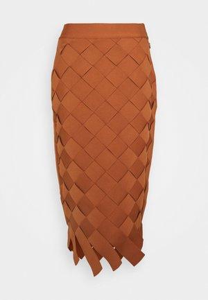 Pencil skirt - ginger