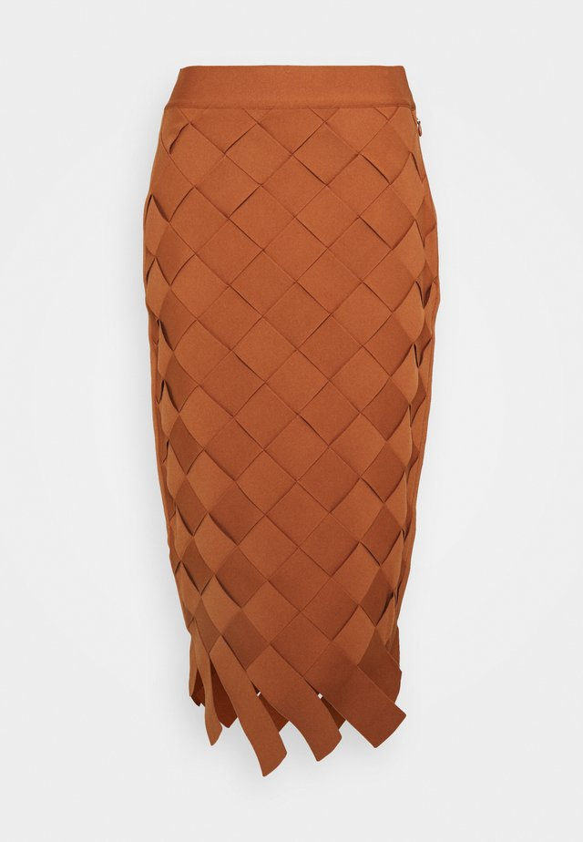 Pencil skirt - ginger