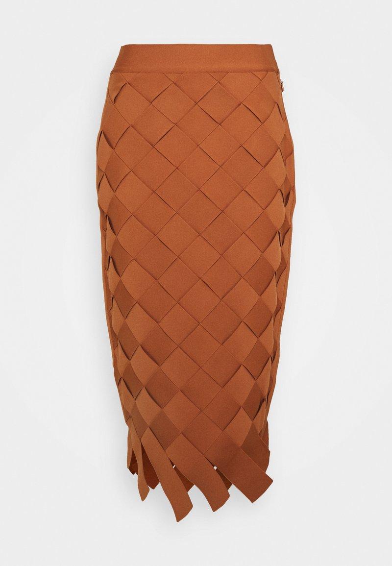 Hervé Léger - Pencil skirt - ginger