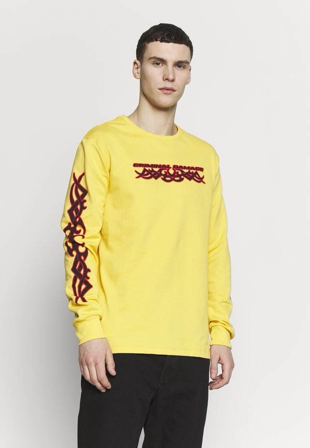 TRIBAL - Sweatshirt - yellow/multi
